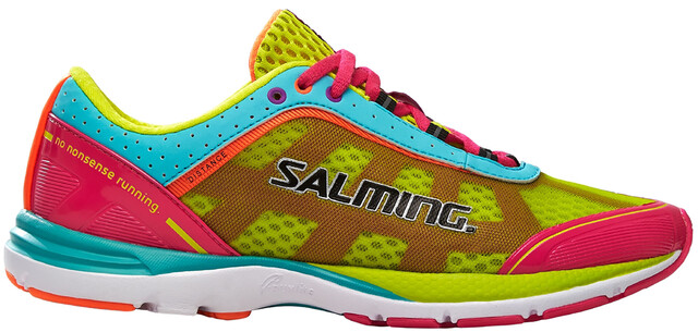 Salming W's Distance 3 Shoes Sosa Glo/Turquoise
